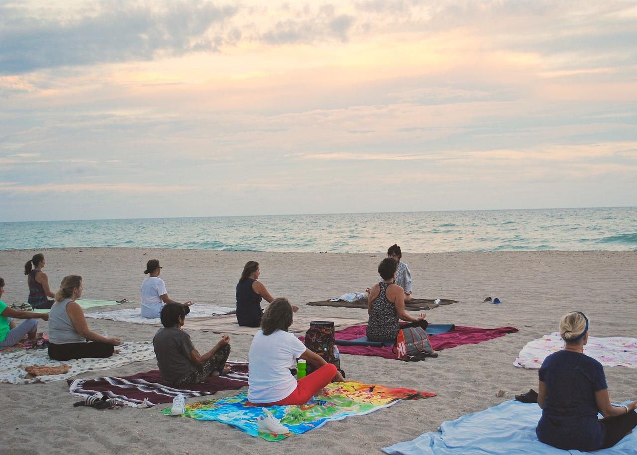 Beach Yoga - unterwegs mit der Nautilus 2