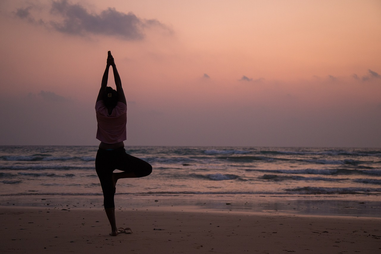 Yoga-Reise mit Ivonne Landl - Strandyoga
